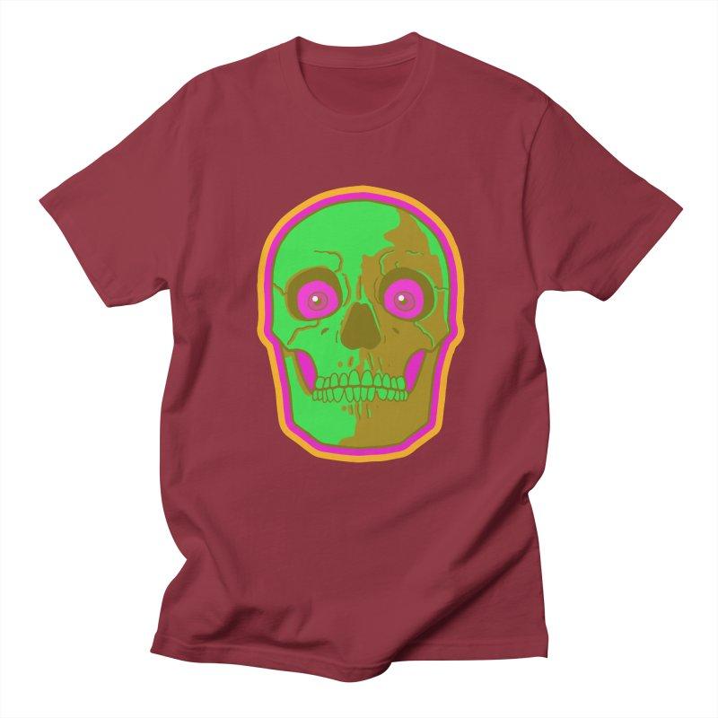 crazyskull No.2 Men's T-shirt by crazy3dman's Artist Shop