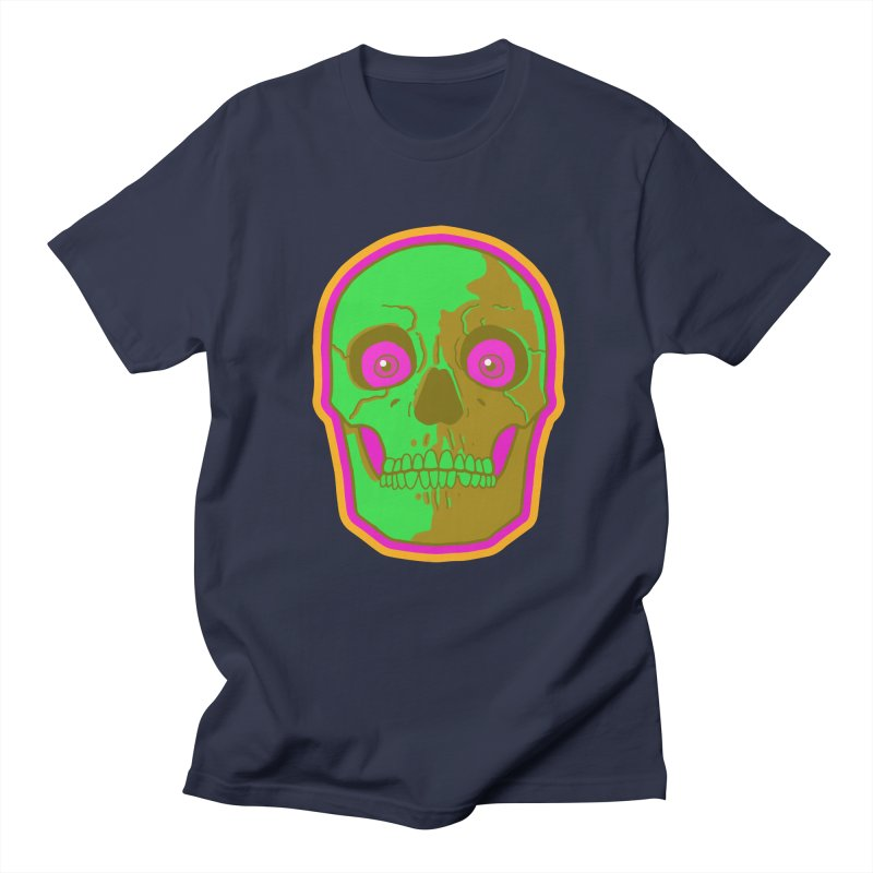 crazyskull No.2 Men's T-Shirt by crazy3dman's Artist Shop