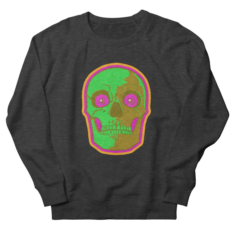 crazyskull No.2 Women's Sweatshirt by crazy3dman's Artist Shop