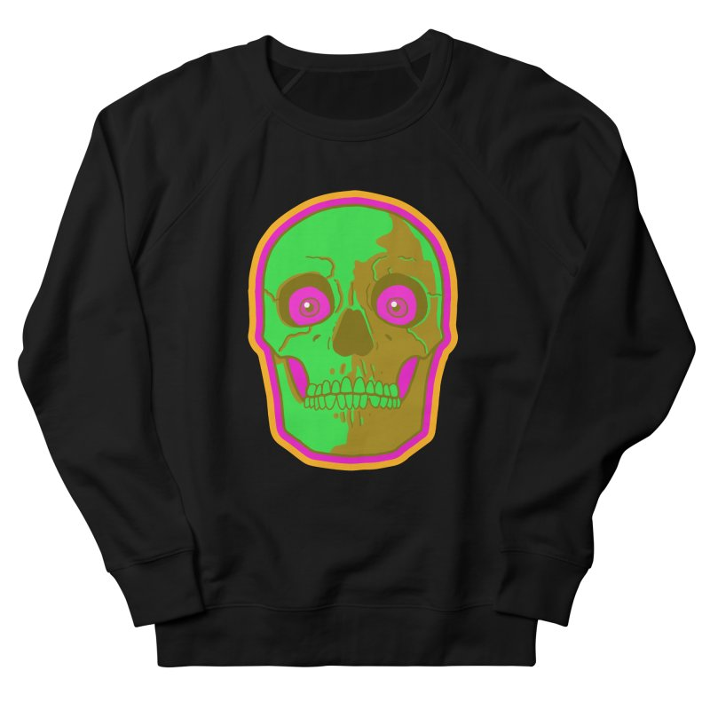 crazyskull No.2 Women's Sweatshirt by crazy3dman's Artist Shop