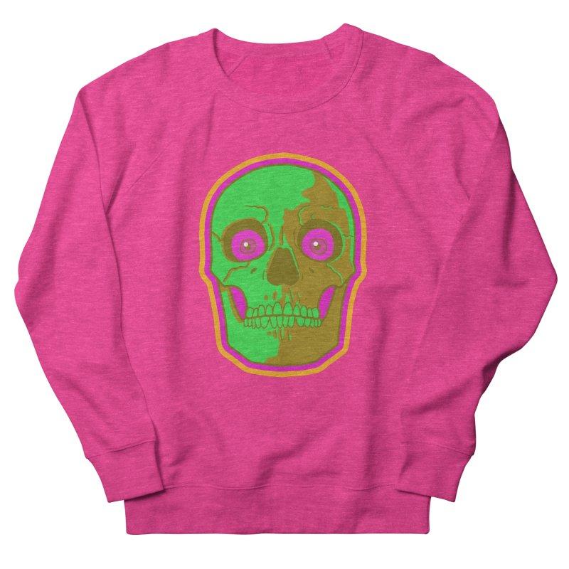 crazyskull No.2 Men's Sweatshirt by crazy3dman's Artist Shop