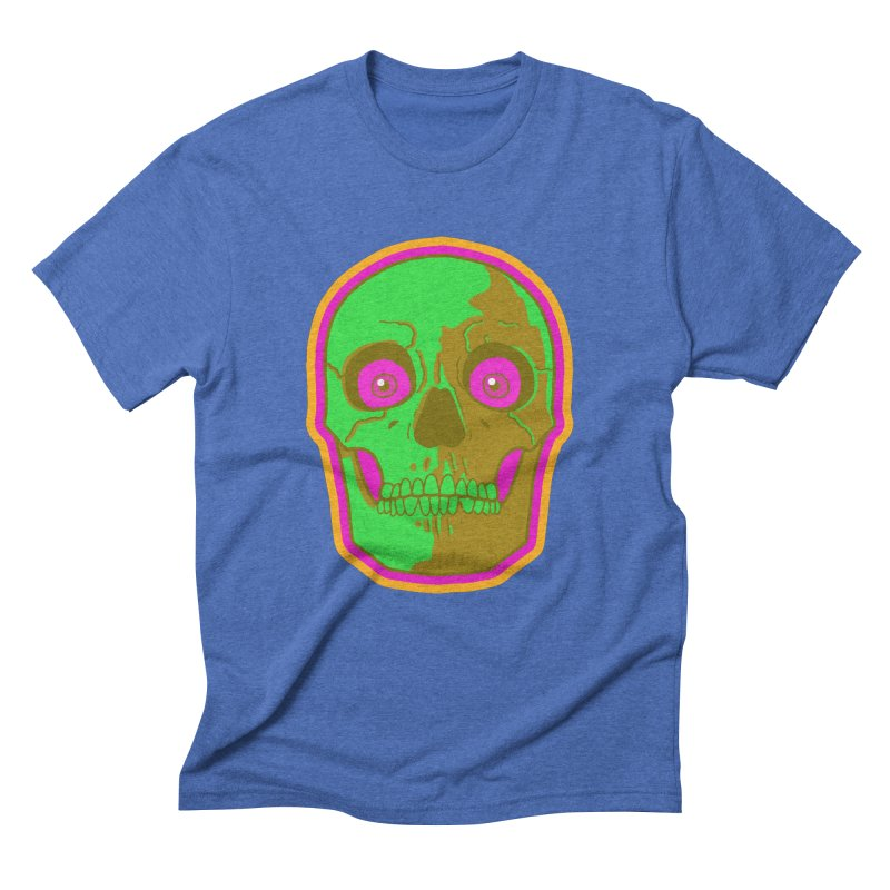 crazyskull No.2 Men's Triblend T-Shirt by crazy3dman's Artist Shop