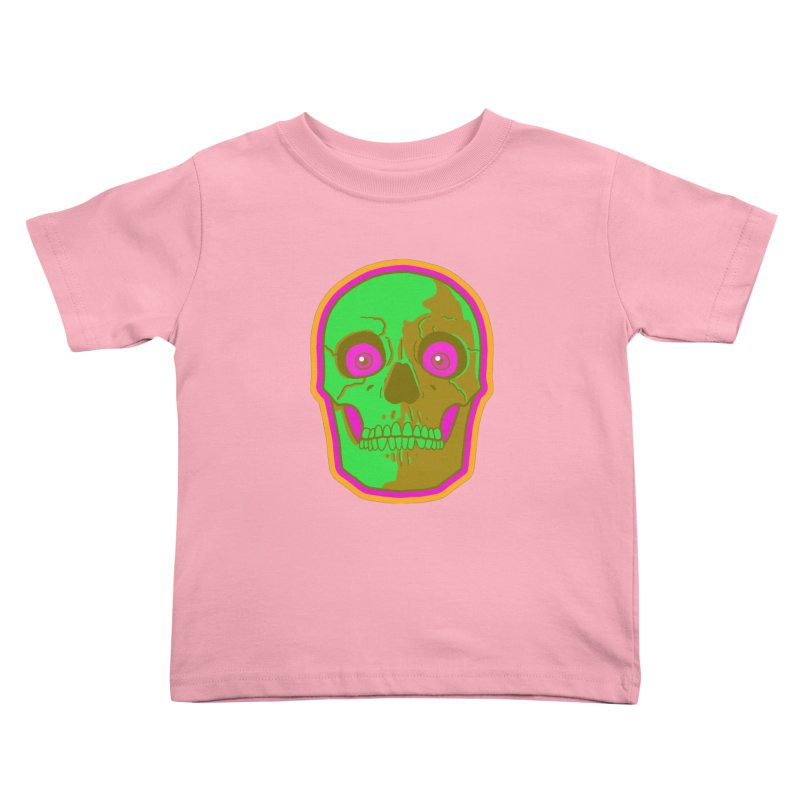 crazyskull No.2 Kids Toddler T-Shirt by crazy3dman's Artist Shop
