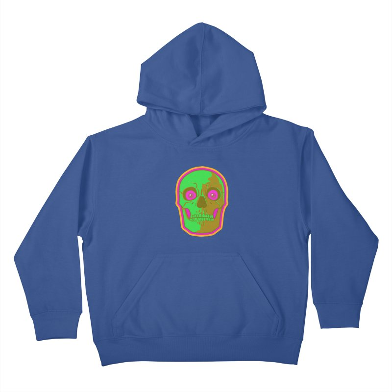 crazyskull No.2 Kids Pullover Hoody by crazy3dman's Artist Shop