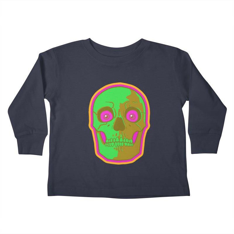 crazyskull No.2 Kids Toddler Longsleeve T-Shirt by crazy3dman's Artist Shop
