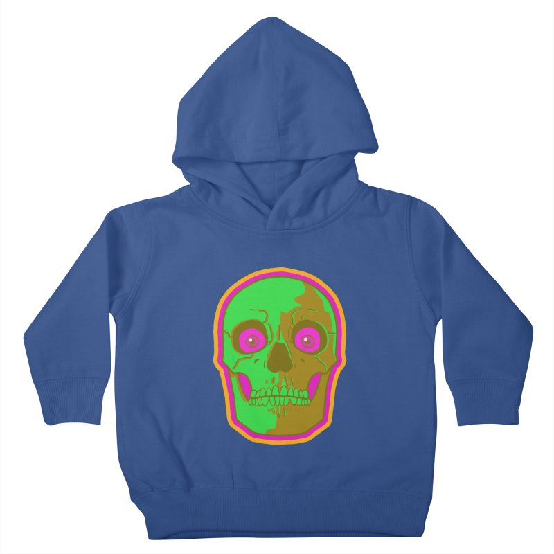 crazyskull No.2 Kids Toddler Pullover Hoody by crazy3dman's Artist Shop