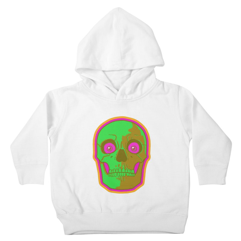 crazyskull No.2 Kids Toddler Pullover Hoody by crazy3dman's Artist Shop