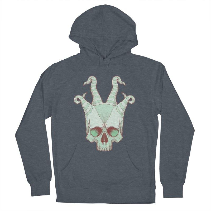 crazyskull No.3 Men's Pullover Hoody by crazy3dman's Artist Shop