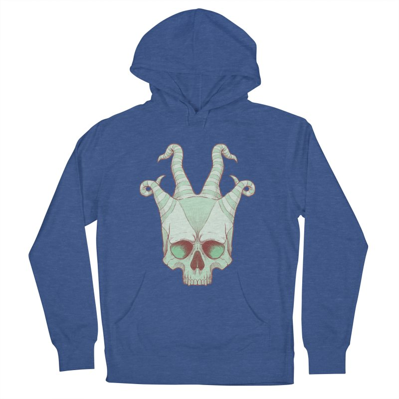 crazyskull No.3 Men's Pullover Hoody by crazy3dman's Artist Shop