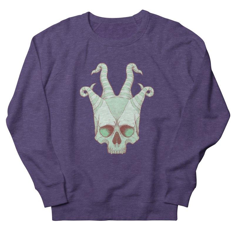 crazyskull No.3 Women's Sweatshirt by crazy3dman's Artist Shop