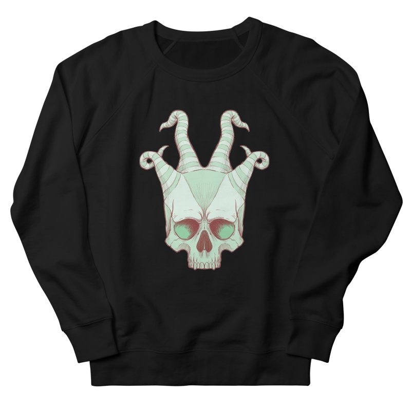 crazyskull No.3 Men's Sweatshirt by crazy3dman's Artist Shop