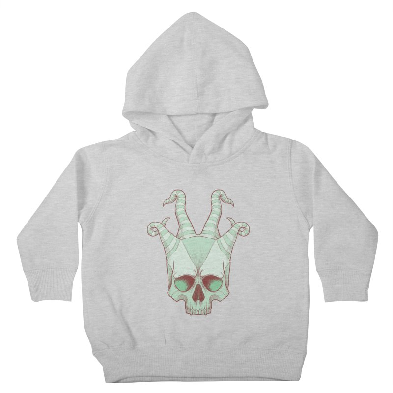 crazyskull No.3 Kids Toddler Pullover Hoody by crazy3dman's Artist Shop