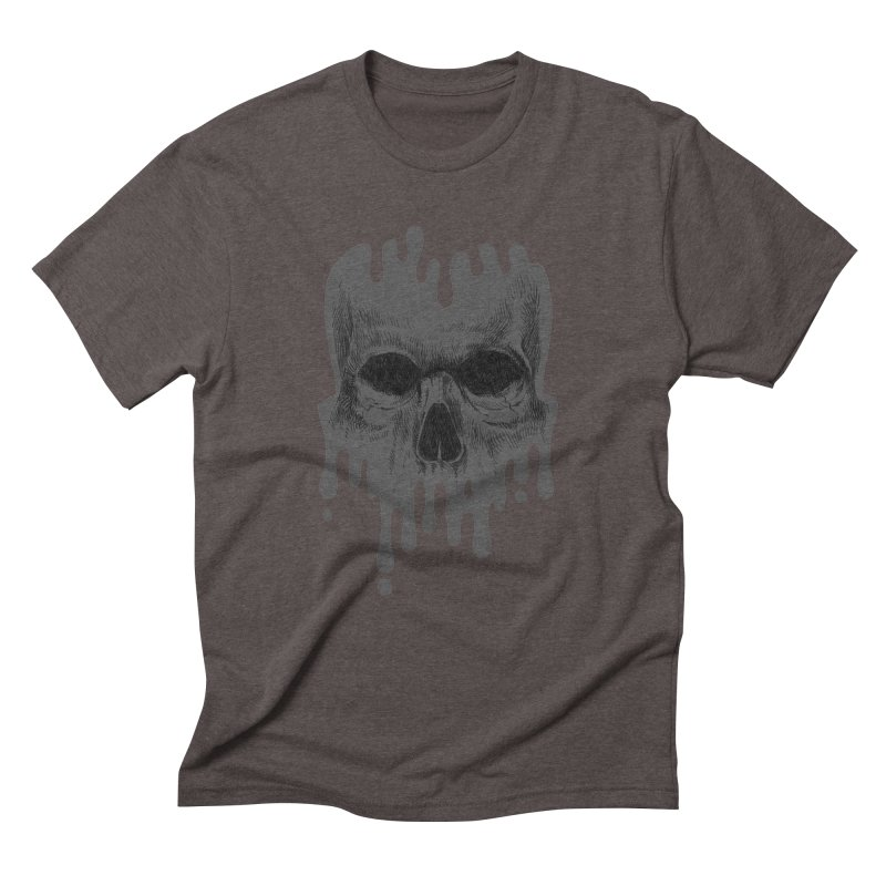 crazyskull No.4 Men's Triblend T-Shirt by crazy3dman's Artist Shop