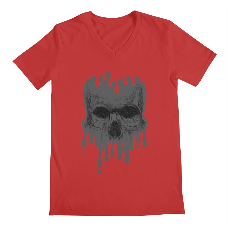 crazyskull No.4 Men's V-Neck by crazy3dman's Artist Shop