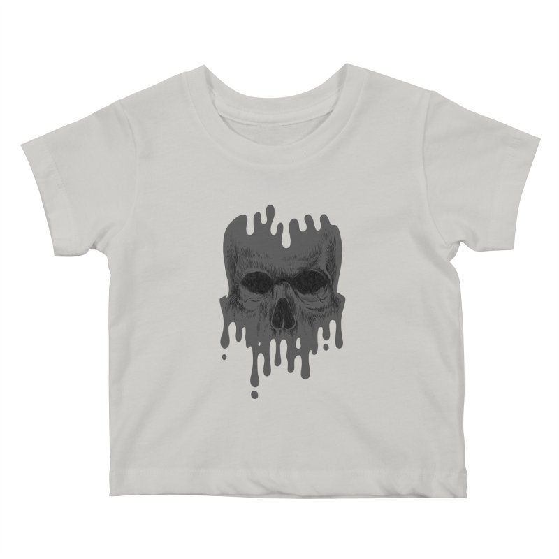 crazyskull No.4 Kids Baby T-Shirt by crazy3dman's Artist Shop