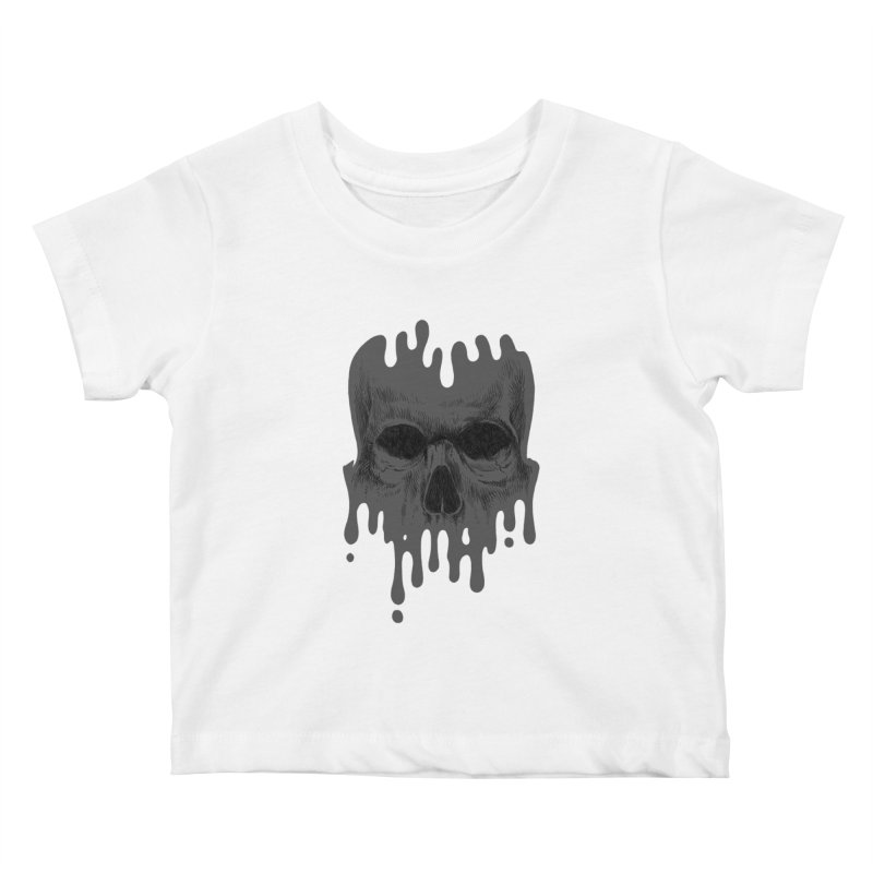 crazyskull No.4 Kids Baby T-Shirt by crazy3dman's Artist Shop