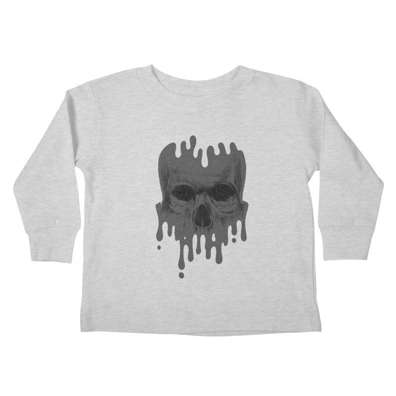 crazyskull No.4 Kids Toddler Longsleeve T-Shirt by crazy3dman's Artist Shop