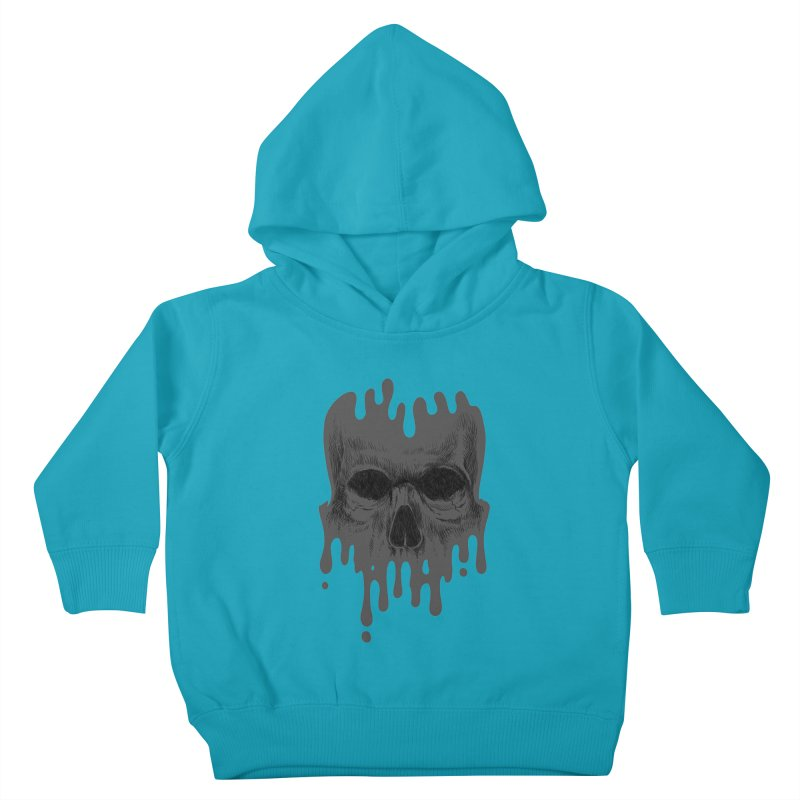 crazyskull No.4 Kids Toddler Pullover Hoody by crazy3dman's Artist Shop