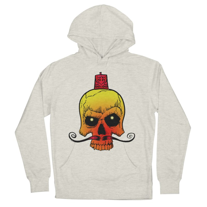 crazyskull No.5 Men's Pullover Hoody by crazy3dman's Artist Shop