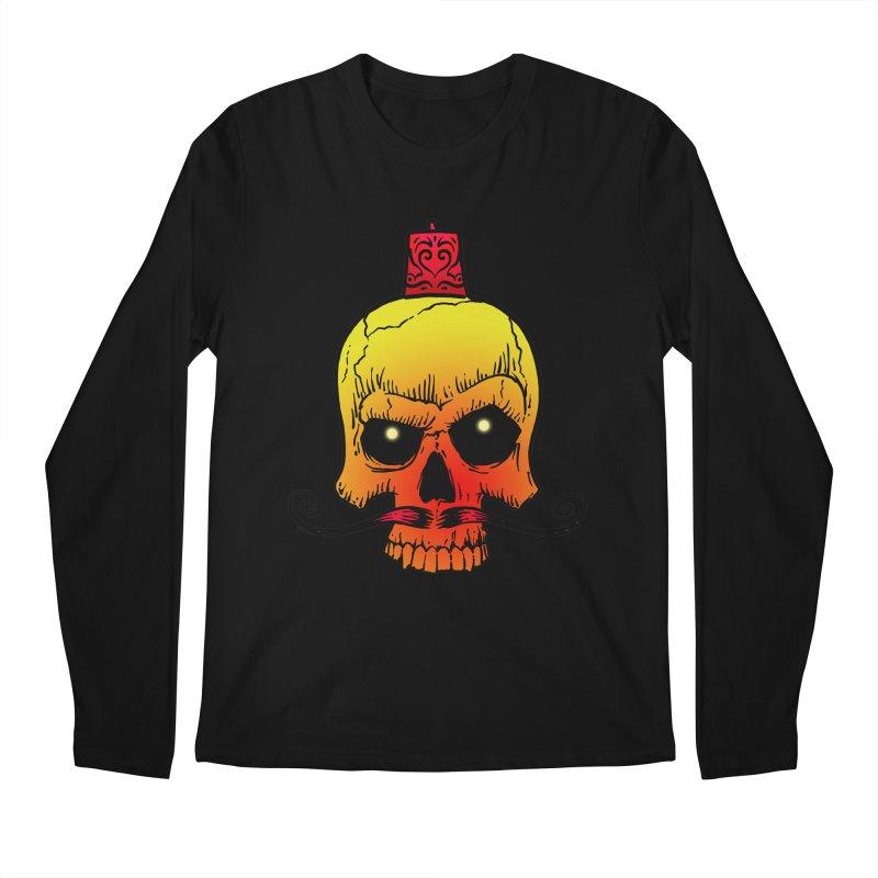 crazyskull No.5 Men's Longsleeve T-Shirt by crazy3dman's Artist Shop