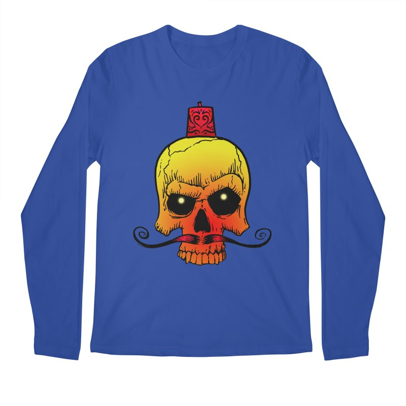 crazyskull No.5 Men's Longsleeve T-Shirt by crazy3dman's Artist Shop