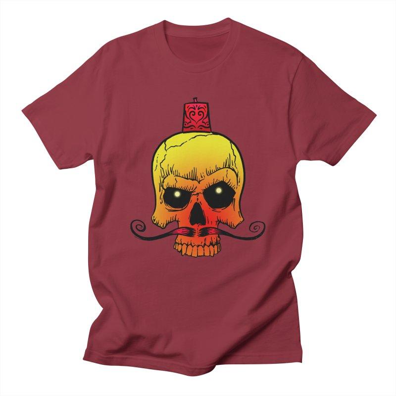 crazyskull No.5 Men's T-shirt by crazy3dman's Artist Shop