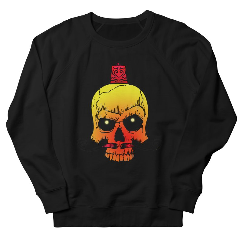 crazyskull No.5 Men's Sweatshirt by crazy3dman's Artist Shop