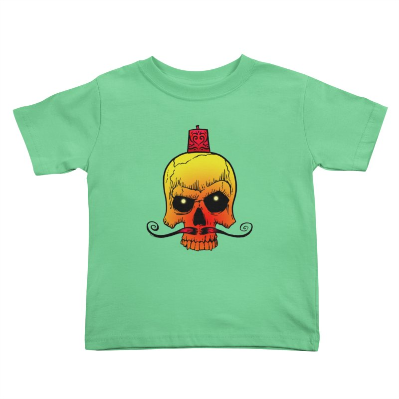 crazyskull No.5 Kids Toddler T-Shirt by crazy3dman's Artist Shop