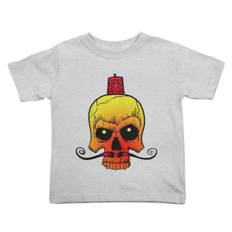 crazyskull No.5 Kids Toddler T-Shirt by crazy3dman's Artist Shop