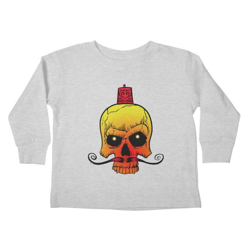 crazyskull No.5 Kids Toddler Longsleeve T-Shirt by crazy3dman's Artist Shop