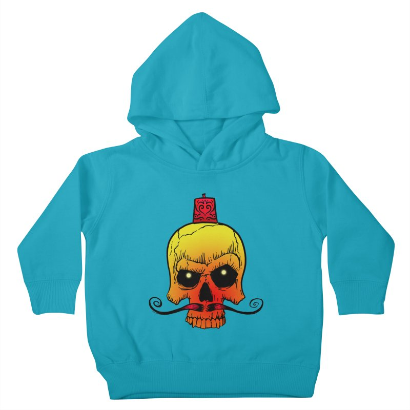 crazyskull No.5 Kids Toddler Pullover Hoody by crazy3dman's Artist Shop