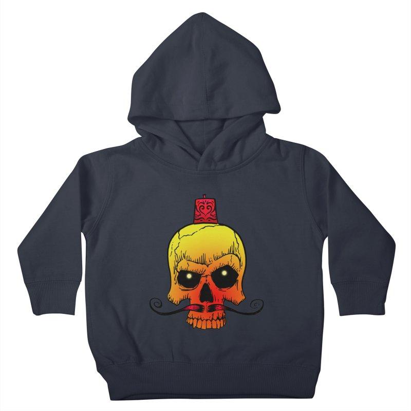 crazyskull No.5 Kids Toddler Pullover Hoody by crazy3dman's Artist Shop