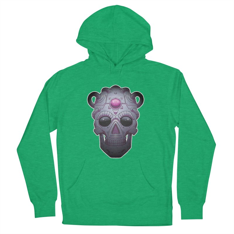 crazyskull No.6 Men's Pullover Hoody by crazy3dman's Artist Shop