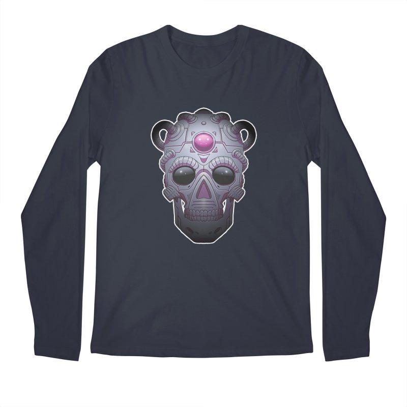 crazyskull No.6 Men's Longsleeve T-Shirt by crazy3dman's Artist Shop