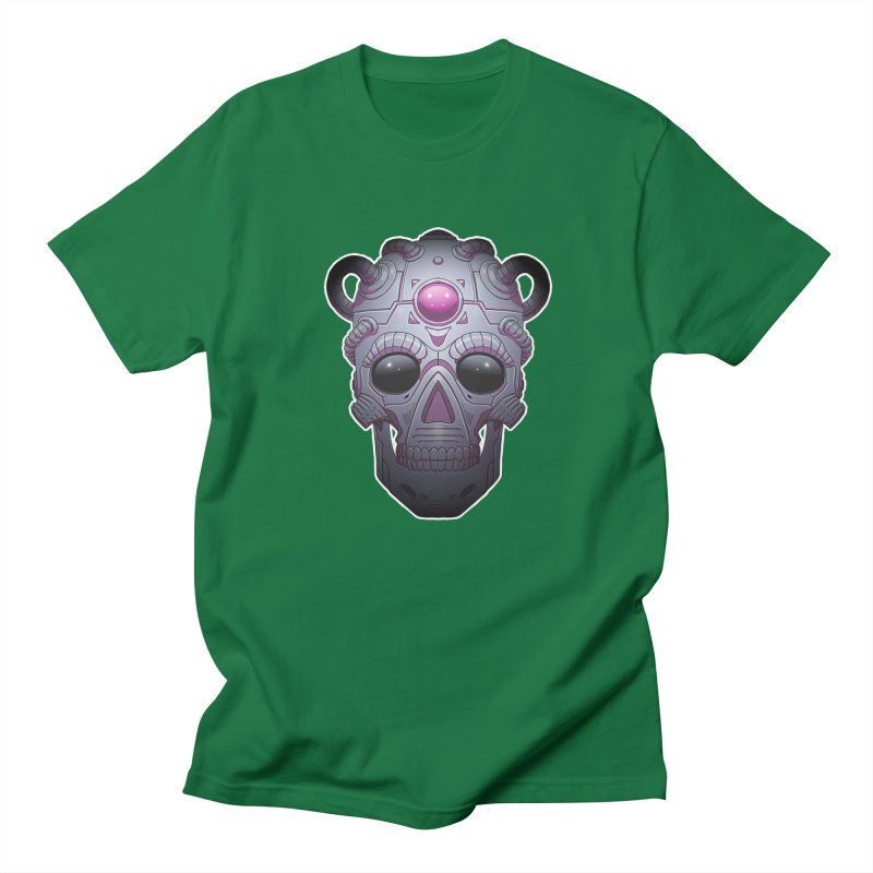 crazyskull No.6 Men's T-shirt by crazy3dman's Artist Shop