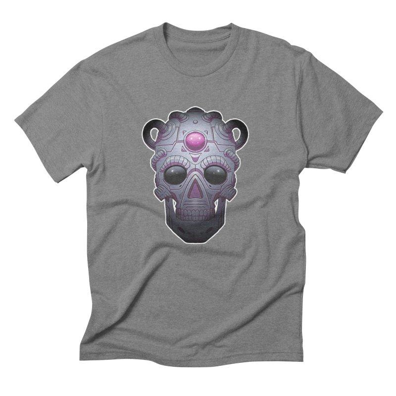 crazyskull No.6 Men's Triblend T-Shirt by crazy3dman's Artist Shop