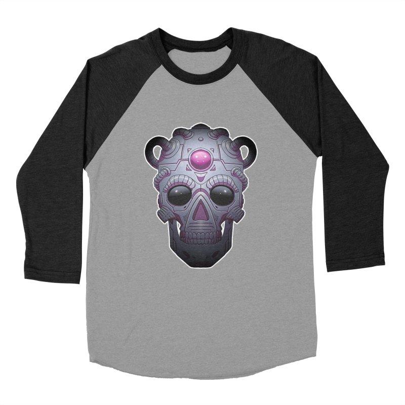 crazyskull No.6 Women's Baseball Triblend T-Shirt by crazy3dman's Artist Shop