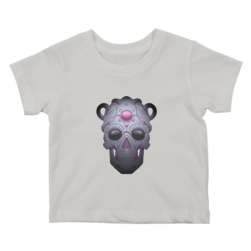 crazyskull No.6 Kids Baby T-Shirt by crazy3dman's Artist Shop