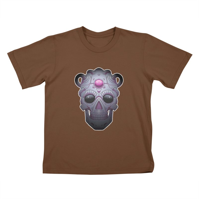 crazyskull No.6 Kids T-Shirt by crazy3dman's Artist Shop