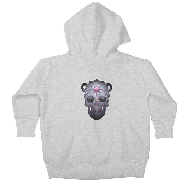 crazyskull No.6 Kids Baby Zip-Up Hoody by crazy3dman's Artist Shop