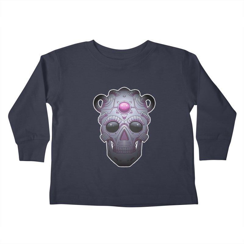 crazyskull No.6 Kids Toddler Longsleeve T-Shirt by crazy3dman's Artist Shop