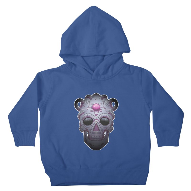 crazyskull No.6 Kids Toddler Pullover Hoody by crazy3dman's Artist Shop