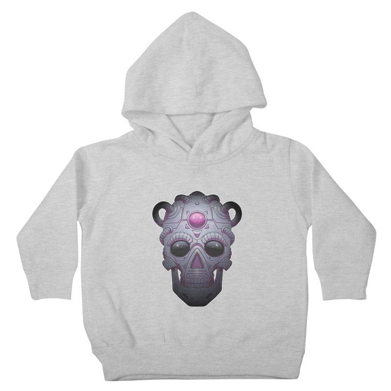 crazyskull No.6 Kids Toddler Pullover Hoody by crazy3dman's Artist Shop