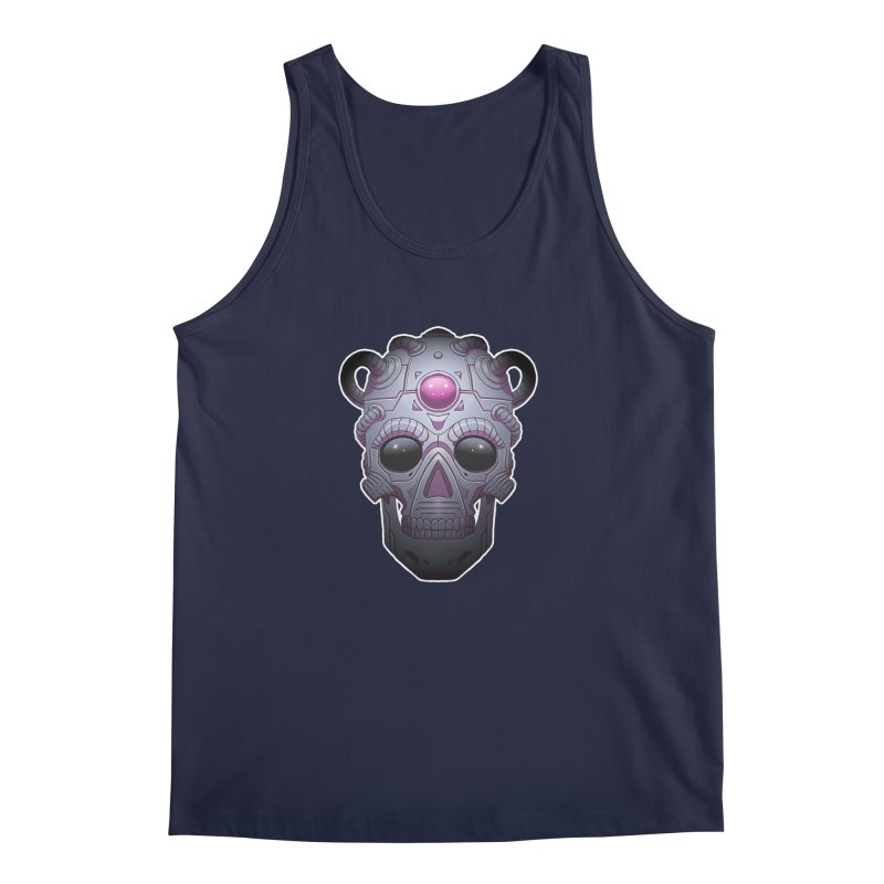 crazyskull No.6 Men's Tank by crazy3dman's Artist Shop