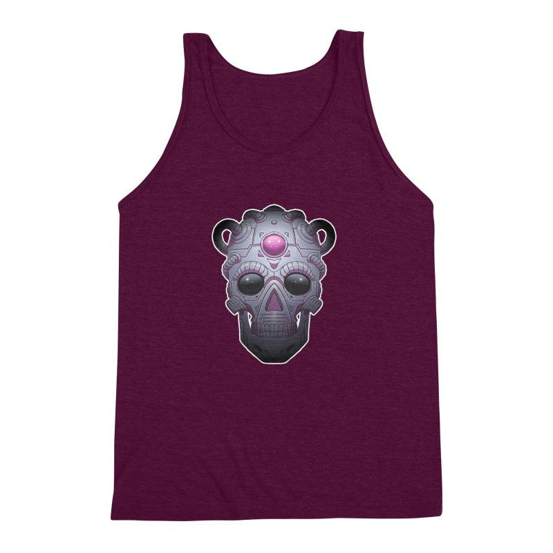 crazyskull No.6 Men's Triblend Tank by crazy3dman's Artist Shop