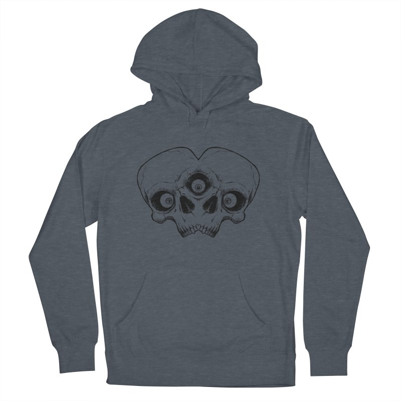 crazyskull No.7 Men's Pullover Hoody by crazy3dman's Artist Shop