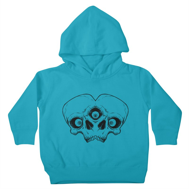 crazyskull No.7 Kids Toddler Pullover Hoody by crazy3dman's Artist Shop