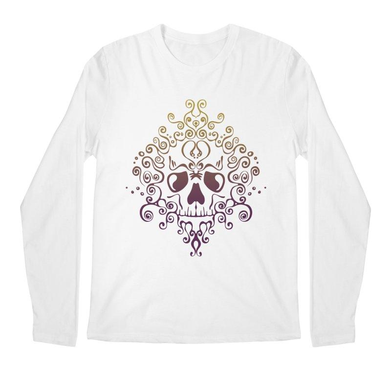 crazyskull No.8 Men's Longsleeve T-Shirt by crazy3dman's Artist Shop