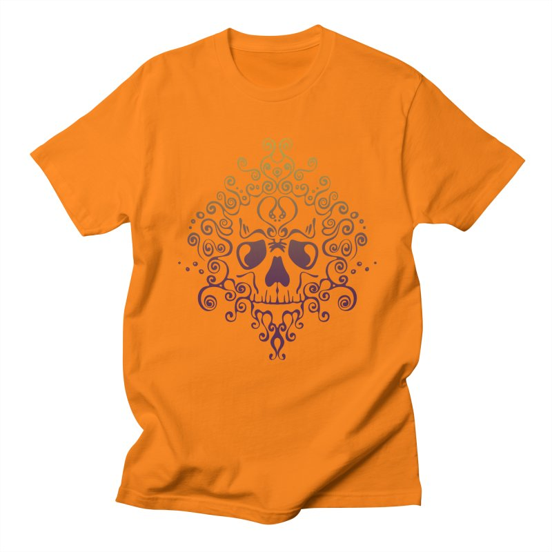 crazyskull No.8 Men's T-Shirt by crazy3dman's Artist Shop