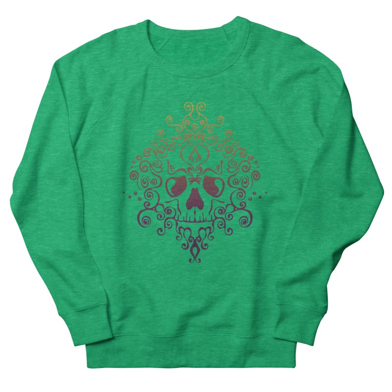 crazyskull No.8 Women's Sweatshirt by crazy3dman's Artist Shop